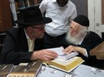 """הרב שמעון יוסף מלר אצל הגר""""ח קנייבסקי"""