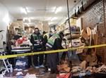 זירת הרצח בג'רזי סיטי