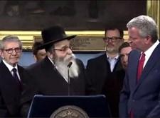 הרב נידרמן במסיבת העיתונאים
