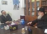 הרב הכהן עם יעקב ליצמן