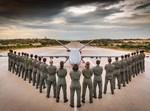 טקס סיום קורס מפעילי כלי טיס מאויש מרחוק מספר 34