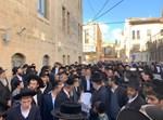 """הלווית הרב מרדכי ארנון ז""""ל"""