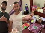 גבריאל ברדה עושה שבת אצל מוחמד סעוד