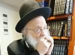 הרב אביש דיקשטיין מנגן במפוחית