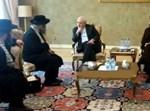 אנשי נטורי קרתא עם שר החוץ האיראני