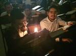 נזקי הסופה: בישיבה למדו לאור נרות