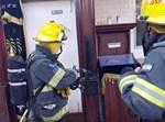 שריפה פרצה בבית הכנסת החסידי בטבריה