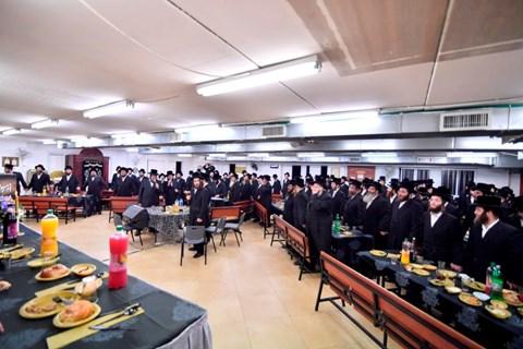 """סיום הש""""ס בבית המדרש ויז'ניץ באשדוד"""