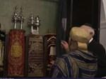 מלך מרוקו מבקר בבית הכנסת