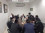 נציגי יהדות התורה בישיבה לאחר הבחירות