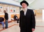 ישראל אייכלר במסדרונות הכנסת
