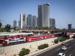 רכבת תל אביב. צילום: מרים אלסטר, פלאש 90