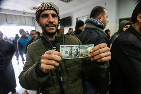 חלוקת הכסף ברצועה