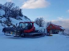 מפלסות השלג, הבוקר