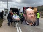 """הרב אברהם גלבמן ז""""ל על רקע התאונה"""