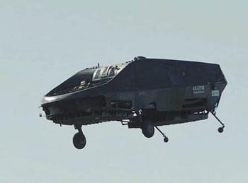 רכב אוויר אוטונומי מאויש בפיתוח