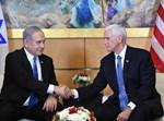 """נתניהו ופנס בשגרירות ארה""""ב בירושלים"""