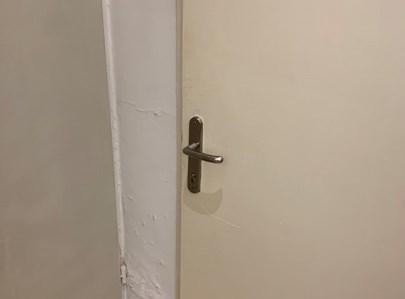 """דלת משרד רה""""מ"""