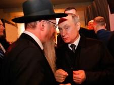 """הגר""""ב לאזאר והנשיא פוטין בירושלים"""