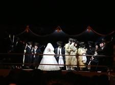 חתונת נכדת הרבי מתולדות אברהם יצחק