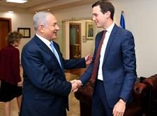 """נתניהו וקושנר בשגרירות ארה""""ב בי-ם"""