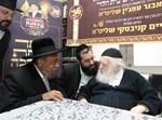 הרב אבנר עפג'ין אצל הרב קנייבסקי