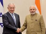 ראש ממשלת הודו, נרנדרה מודי, בפגישה עם נתניהו
