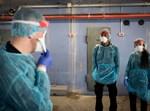 צוות רפואי ממוגן מפני הקורונה