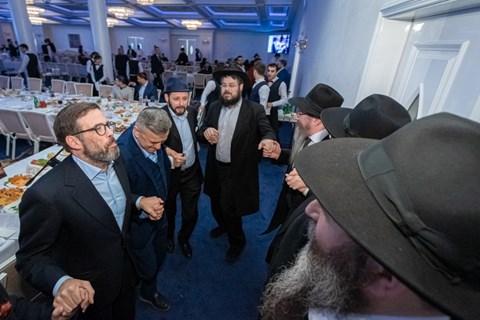 """התוועדות במוסקבה לכבוד יו""""ד שבט"""