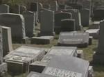 בית הקברות שחולל בפילדלפיה (צילומסך)