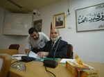 """אחמד בחר, יו""""ר הוועדה המחוקקת הפלשתינית"""