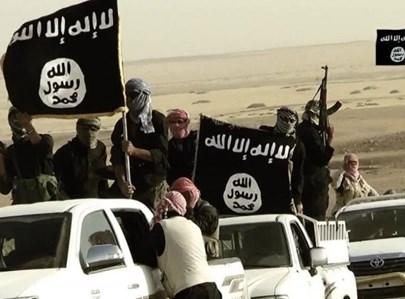 """אילוסטרציה: כוחות דאע""""ש"""