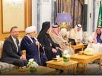 הרב רוזן במפגש עם מלך סעודיה