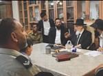 חיילי צה''ל מתברכים אצל הגר''ש כהן