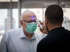 מדידת חום בכניסה להדסה עין כרם