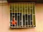 ילד בחלון. צילום: פלאש 90