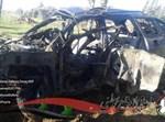 הרכב שהופצץ בסוריה