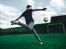 שחקן כדורגל. אילוסטרציה
