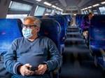 נסיעה ברכבת בימי משבר הקורונה