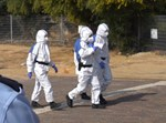 שוטרים מוגנים מפני קורונה