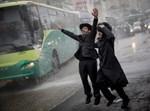 הפגנות הפלג הירושלמי בירושלים, צילום: פלאש90