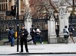 זירת הפיגוע אמש בלונדון. צילום: רויטרס