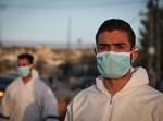 רופאים פלסטינים במחסום חוסאן