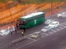 מעצר חולה קורונה באוטובוס