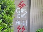 """גרפיטי אנטישמי במדינת אלבמה בארה""""ב"""