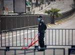 מחסום משטרתי בירושלים