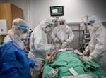חולה קורונה בבית חולים
