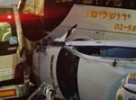 תאונת אוטובוס. צילום: דוברות מדא