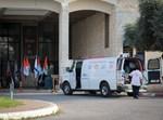 ישראלי בדרך לבידוד במלון בירושלים