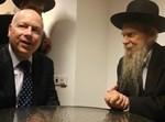 """ג'ייסון גרינבלט בפגישתו הערב עם הגרי""""ג אדלשטיין"""